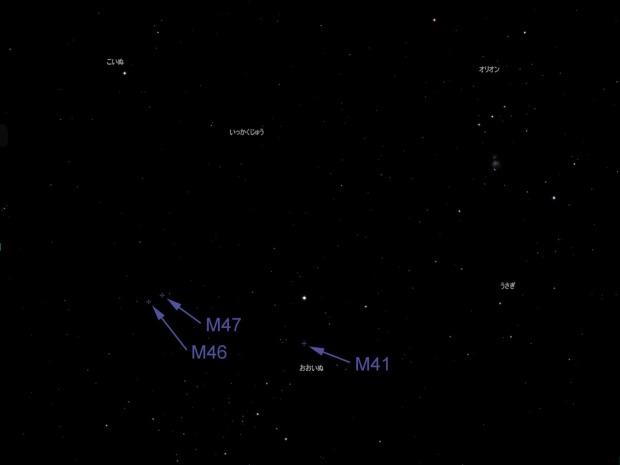 M41, M46 & M47