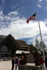 Old Faithful Visitor Center