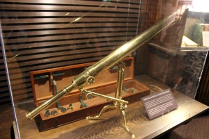 Persival Lowell's First Telescope