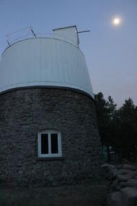 Pluto Telescope Dome