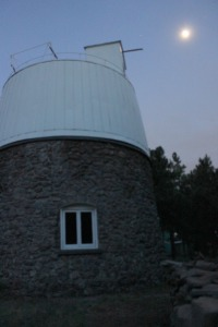 Pluto Telescope Dome