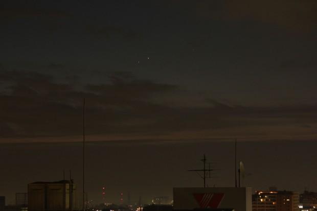 水星と土星の接近