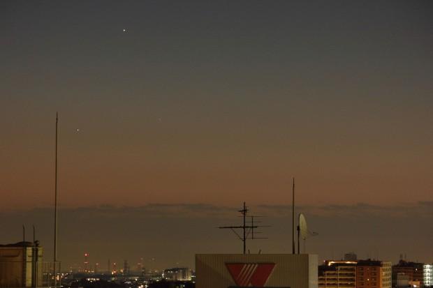 水星と土星