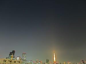 東京タワー、しし座