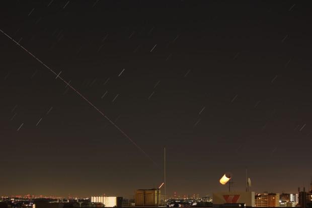 ISS, Venus & Moon