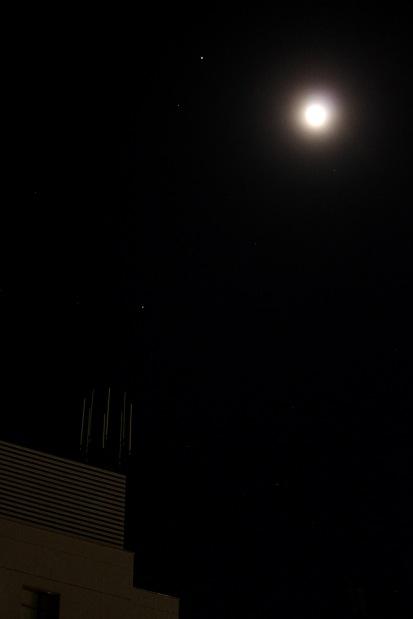 Mars, Moon & Spica