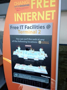 Changi Airport Free Internet