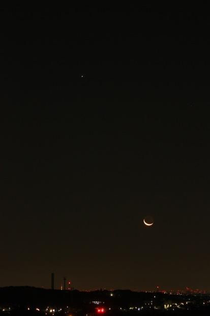 Jupiter, Moon and Tokyo Tower