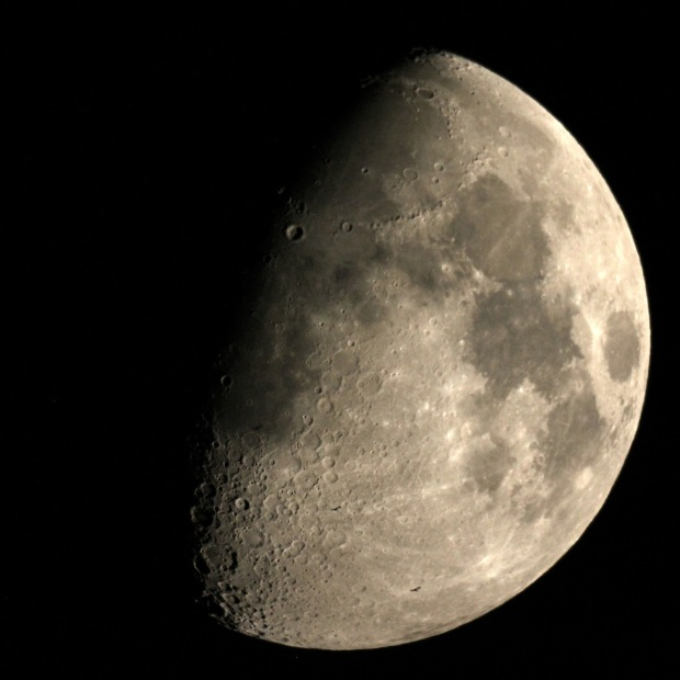 ISSの月面通過