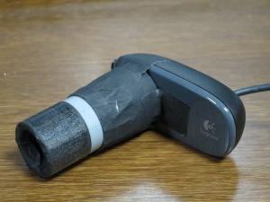 24.5mm用改造USBカメラ
