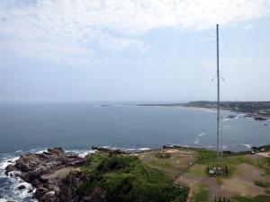 DGPS信号送信アンテナ