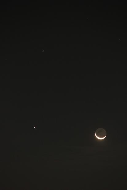 火星・木星・月