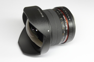 SAMYANG 8mm 1:3.5 UMC FISH-EYE CS II