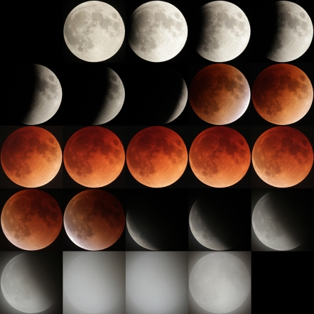 皆既月食の過程2