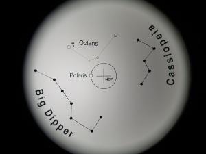 極軸望遠鏡レチクル