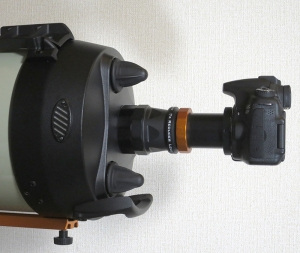 EdgeHD w/ Reducer & DSLR Camera