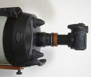 EdgeHD w/ Reducer & DSLR Camera